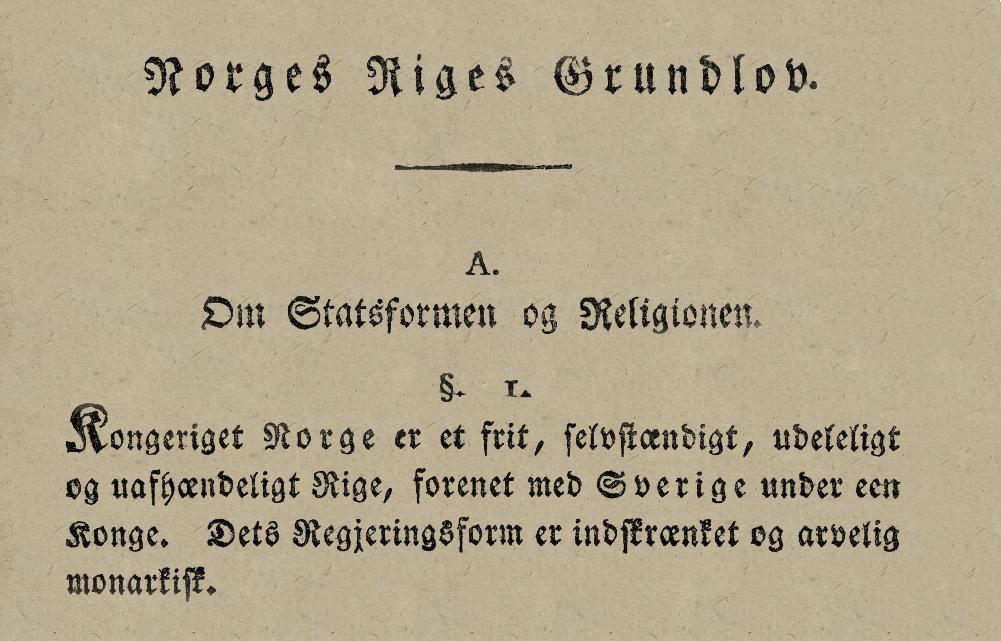 Constituição Noruega 2