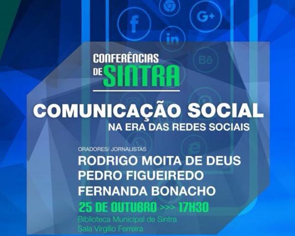 ConferênciaComunicação Social na Era das Redes Sociais.