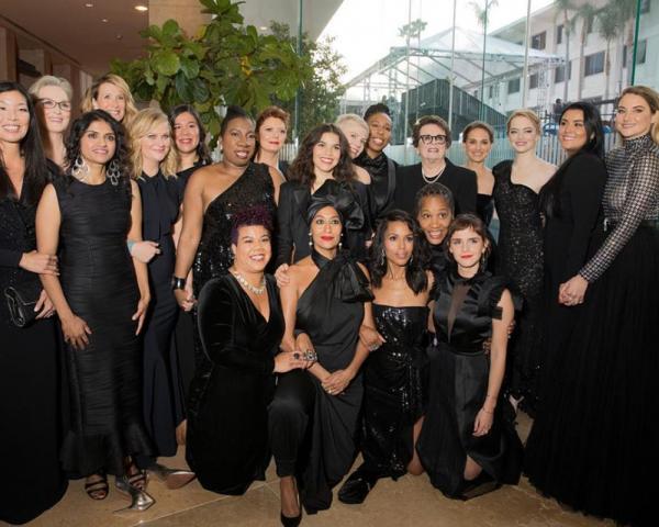 Movimento Time's up na 75º edição dos Golden Globes 2018