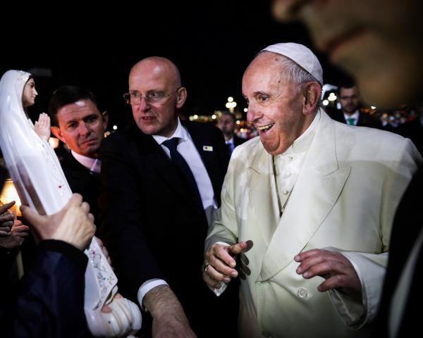 Papa Francisco no Santuário de Fátima 2017
