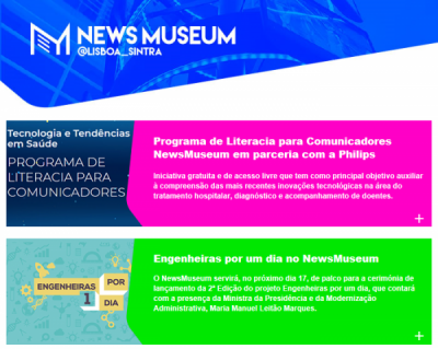 Newsletter NewsMuseum | Outubro 2018