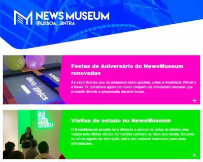 Newsletter NewsMuseum | Setembro 2018